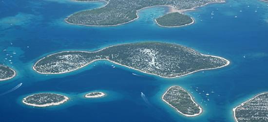 Isole all'ingresso di Murter