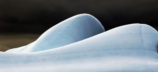 Scolpito dai venti, immagini antartiche