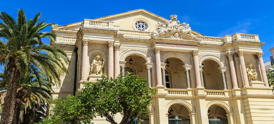 Toulon Opera House, nel sud della Francia