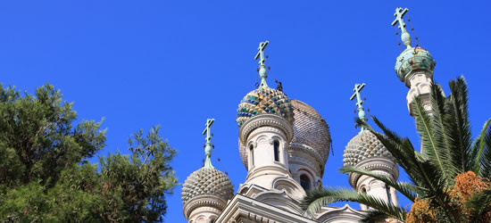 La chiesa ortodossa russa, San Remo