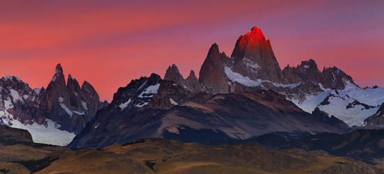 Monte Fitz Roy, Tierra del Fuoco