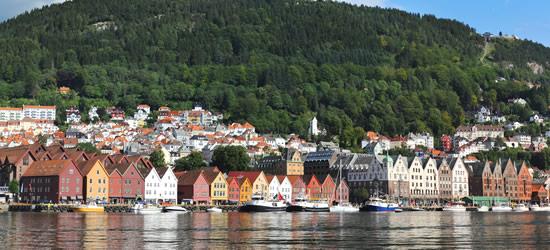 Ingresso per i fiordi, Bergen