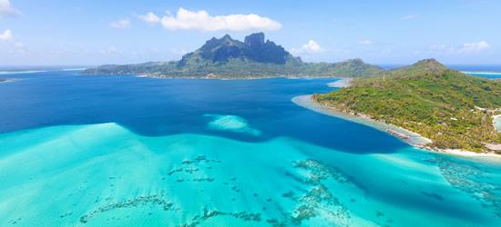 Monte Otemanu a Bora Bora