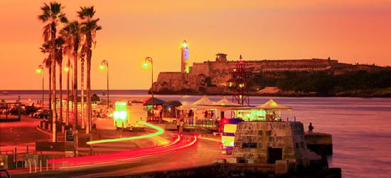 Sunset cubana