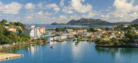 Castries Waterfront, Santa Lucia