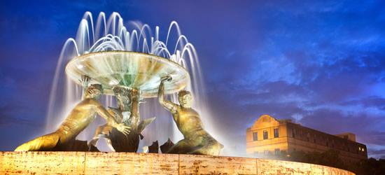 Fontana di Triton, Valletta, Malta