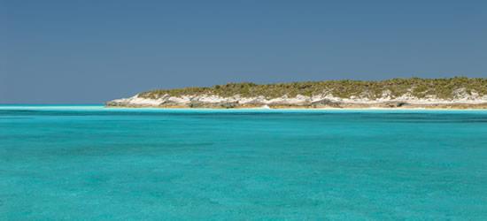 Turchese Colori delle Bahamas