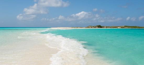 Spiaggia tropicale, Los Roques