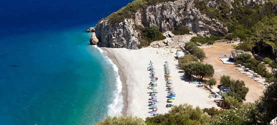 Spiaggia di Tsambou, Samos