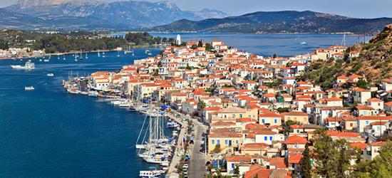 L'isola greca di Poros