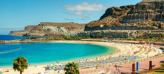 Amadores Beach, Gran Canaria, Spagna