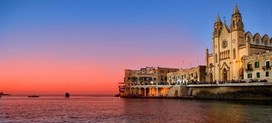 Baia di San Giuliano, Malta