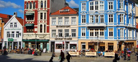 Case di legno tradizionali, Bergen