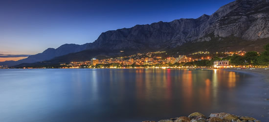La città balneare di Makarska
