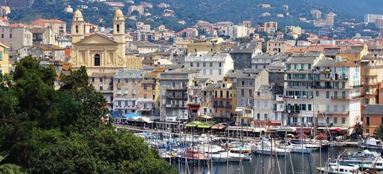 Veduta di Bastia, Corsica