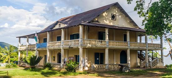 Edificio coloniale, Helle Ville, Nosy Be