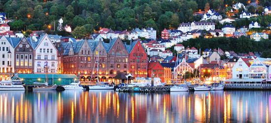 Colori dell'acqua di Bergen