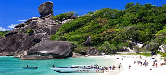 Isole Similan, Tailandia