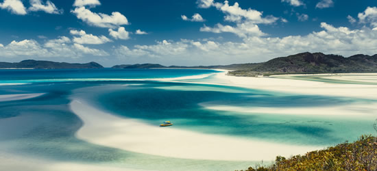 Whitehaven Beach, Whitsunday di