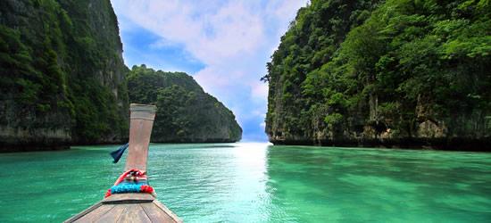 Barca a Legno Long-Tailed, Thailandia