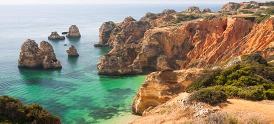 La spettacolare costa dell'Algarve