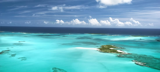 Banchi di sabbia e isole, Bahamas
